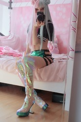 Cosplay Cyber Goddess Boots
