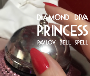 PAVLOV BELL SPELL* ~ Under the Powerful Spell of My Hypnotic Whispers and Pink Pavlovian Bell!
