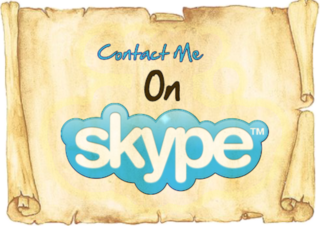 *** SKYPE *** (All you need for!)